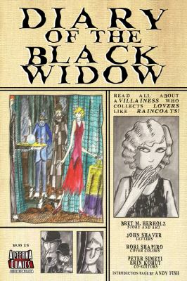 Diary of the Black Widow 9780979787416
