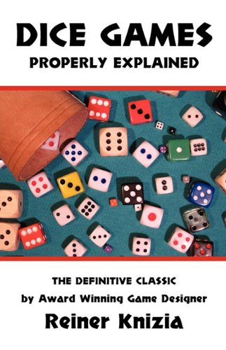Dice Games Properly Explained 9780973105216