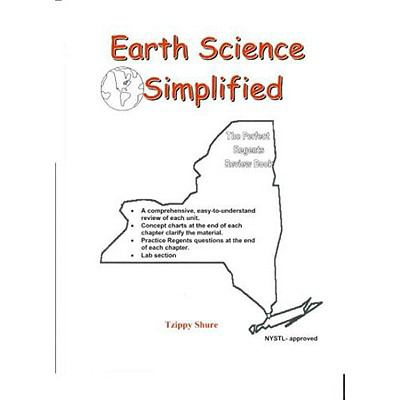 Earth Science Simplified: The Perfect Earth Science Regents Review Book 9780979857805