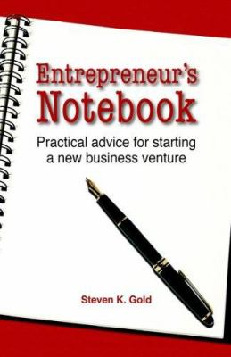 Entrepreneur's Notebook 9780976279044