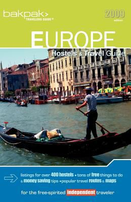 Europe Hostels & Travel Guide 2009 9780976591085