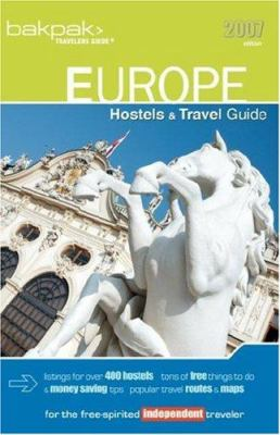 Europe Hostels & Travel Guide 9780976591047
