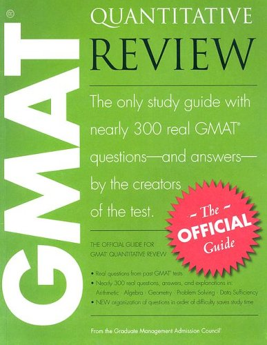 GMAT Quantitative Review: The Official Guide 9780976570929