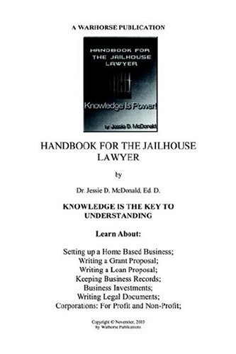 Handbook for Jailhouse Lawyers 9780975527207