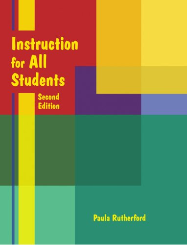 Instruction for All Students [With CDROM] 9780977779680