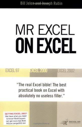 MR Excel on Excel 9780972425834