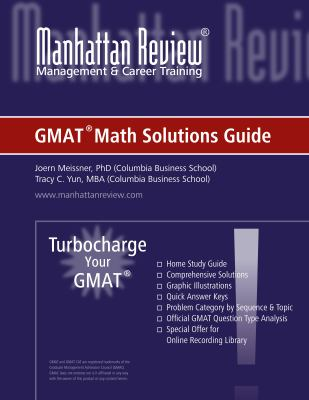 Turbocharge Your GMAT Math Solutions Guide 9780978843519