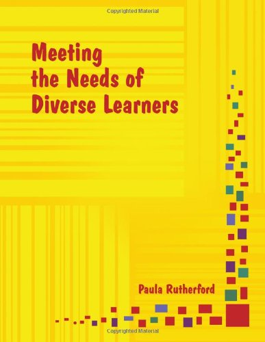 Meeting the Needs of Diverse Learners [With CDROM] 9780979728044