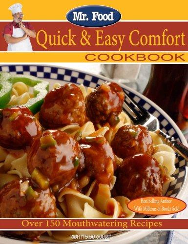 Mr. Food Quick & Easy Comfort Cookbook 9780975539620