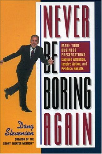Never Be Boring Again 9780971344099