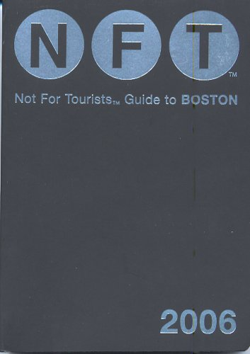 Not for Tourists Guide to Boston [With Fold Out Map] 9780975866467