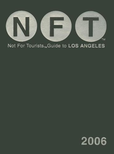 Not for Tourists Guide to Los Angeles [With Fold Out Poster Map] 9780975866481