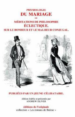 Physiologie Du Mariage 9780973554717