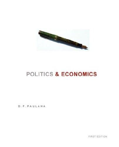 Politics & Economics 9780972361958