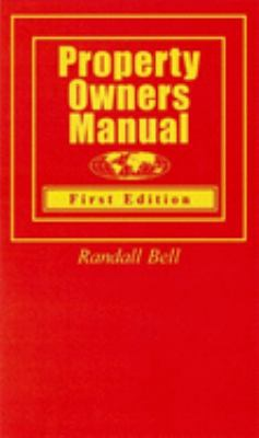 Property Owners Manual 9780974452111