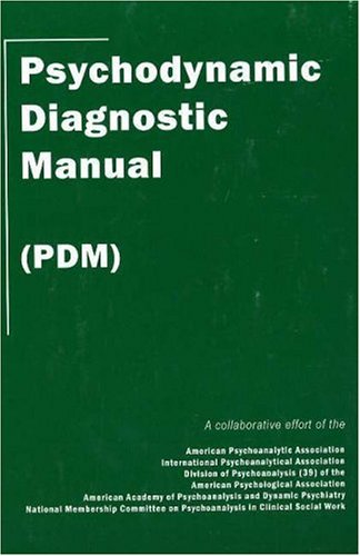 Psychodynamic Diagnostic Manual 9780976775829