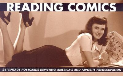 Reading Comics: 24 Vintage Postcards Depicting America's 2nd Favorite Preoccupation 9780971008076