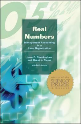 Real Numbers: Management Accounting in a Lean Organization 9780972809900