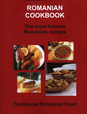 Romanian Cookbook 9780979761867
