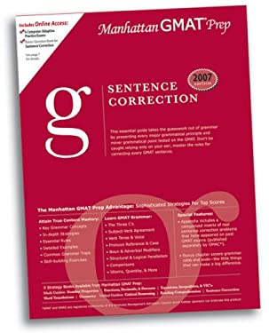 Sentence Correction GMAT Preparation Guide 9780979017575