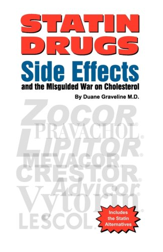 Statin Drugs Side Effects 9780970081797