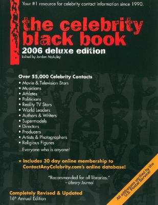 The Celebrity Black Book 9780970709578