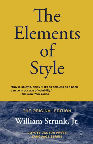 The Elements of Style 9780979660740