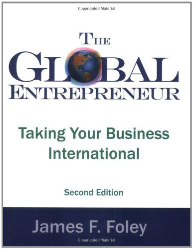The Global Entrepreneur Second Edition 9780975315309