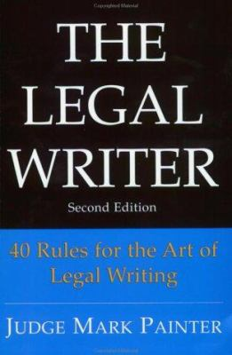 The Legal Writer 9780972191678