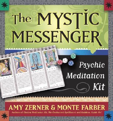 The Mystic Messenger: Psychic Meditation Kit [With 52 Pg Book and 4 Color-Coded 12-Sided Dice and Step-By-Step Instruciton Booklet]