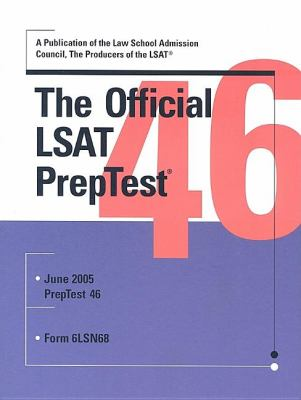 The Official LSAT PrepTest 46 9780976024521