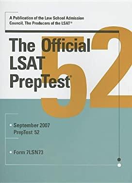 The Official LSAT PrepTest 9780979305009