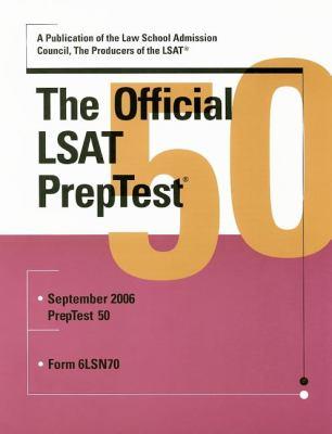The Official LSAT Preptest: September 2006: Form 6LSN70 9780976024576