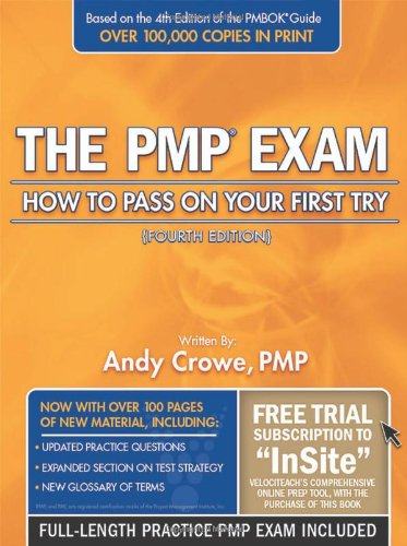 The PMP Exam: How to Pass on Your First Try [With Access Code] 9780972967341