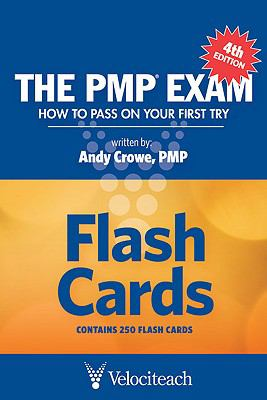 The PMP Exam Flash Cards: How to Pass on Your First Try