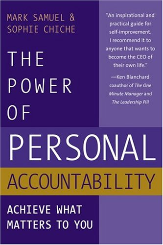 The Power of Personal Accountability 9780975263815
