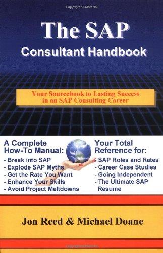 The SAP Consultant Handbook 9780972598804