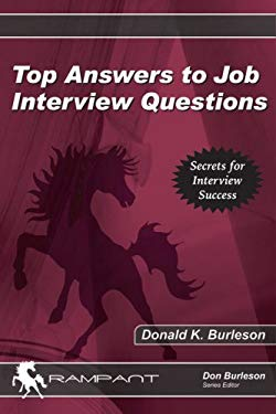 Top Answers to Job Interview Questions 9780974435558
