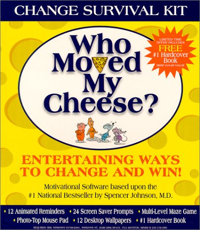 Who Moved My Cheese Change Survival Kit [With Change Survival Kit CDROM] 9780970565105