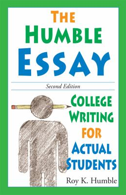 The Humble Essay 9780981818115