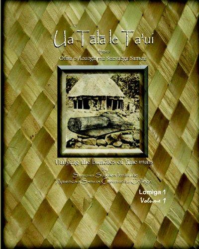 Ua Tala Le Ta'ui 9780981852447
