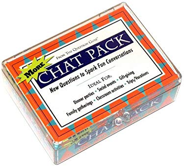 More Chat Pack Cards: New Questions to Spark Fun Conversations 9780981994642