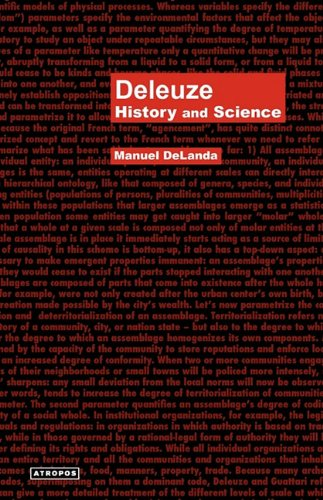Deleuze: History and Science 9780982706718