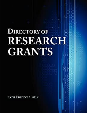 Directory of Research Grants 2012 9780983762263