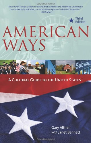 American Ways: A Cultural Guide to the United States 9780984247172