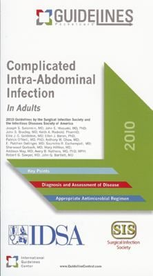 Complicated Intra-Abdominal Infection: In Adults 9780984505326