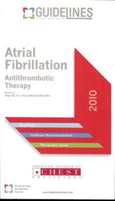 Atrial Fibrillation: Antithrombotic Therapy