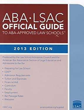 ABA-LSAC Official Guide to ABA-Approved Law Schools 1213 9780984636044