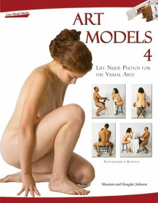Art Models 4: Life Nude Photos for the Visual Arts [With CDROM] 9780981624938