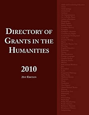 Directory of Grants in the Humanities 2010 9780984172573